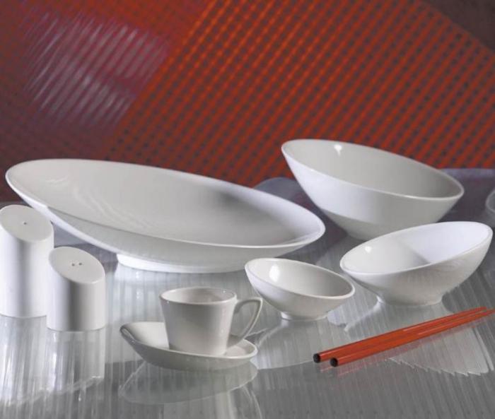 Тарелка с наклоном для супа купить