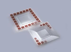 Тарелка Axum Mosaic :: Тарелка из стекла Mosaic